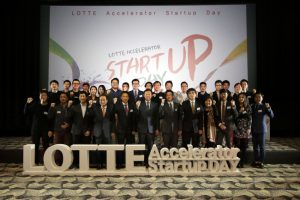 Lotte Accelerator startup day